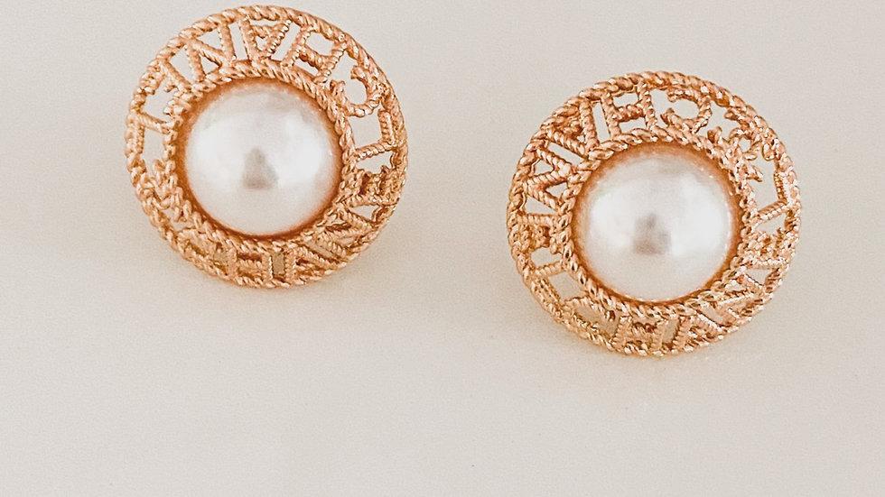 Vintage Vibe CC Earrings