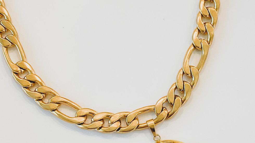 Medallion CC Necklace