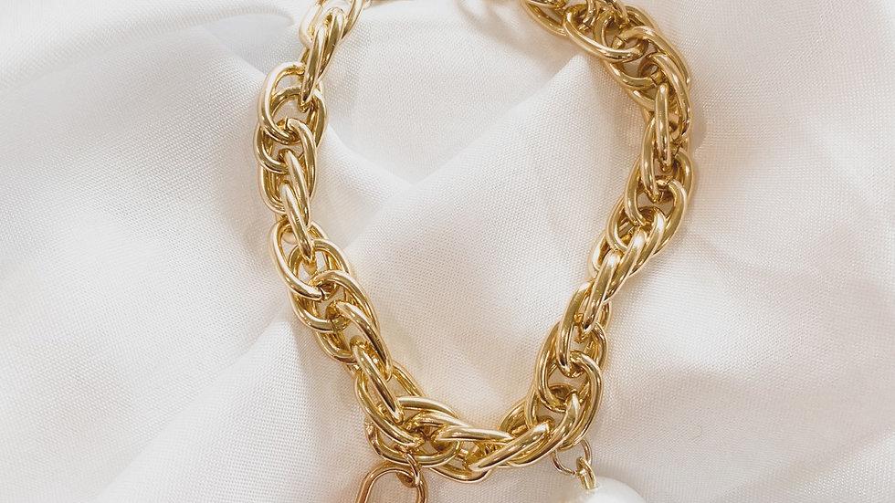 Lady LV Lock Bracelet