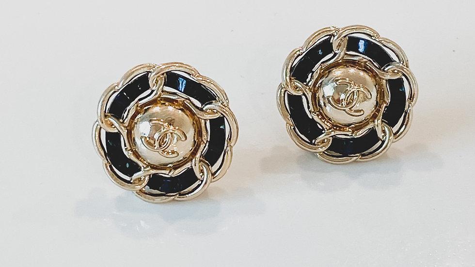Camelia CC Earrings