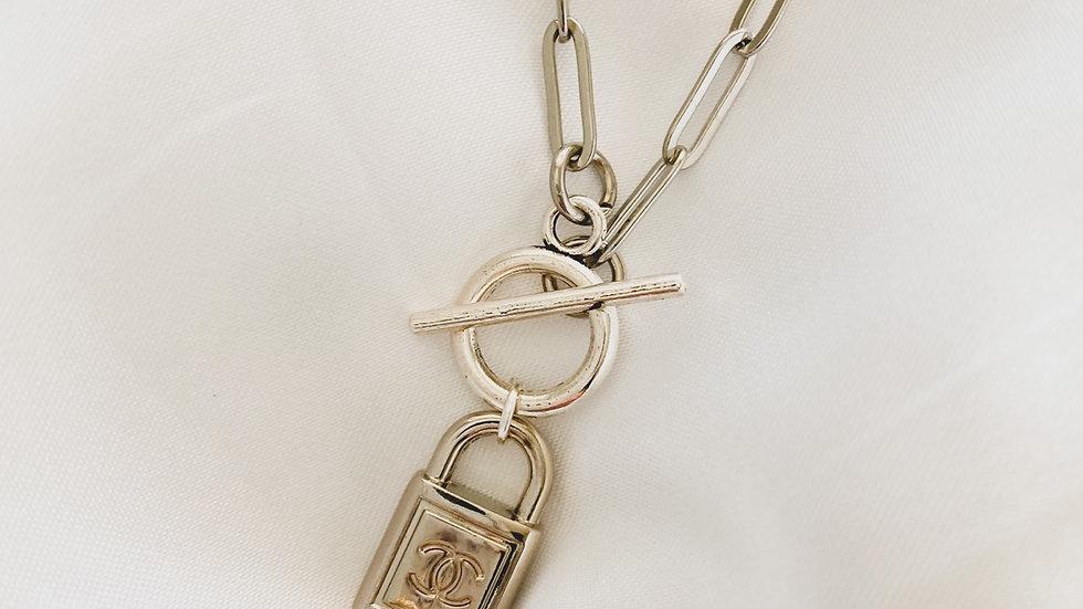 Silver Love Lock CC