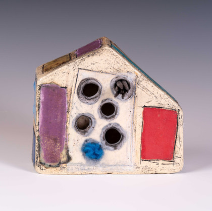 Color Block House 6x7x2