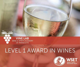 Link to WSET Level 1 Class