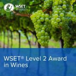 WSET Level 2 Award in Wines * in person social distanced, 3 Saturdays with exam