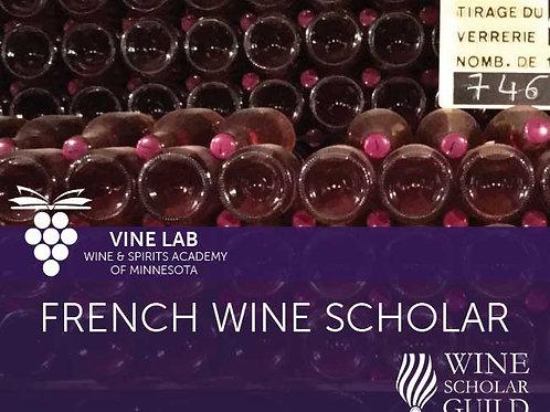 FRENCH WINE SCHOLAR Partial Pmt