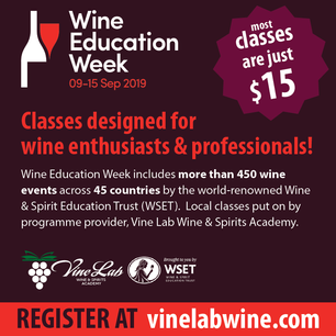 SAVE THE DATE! WSET WINE WEEK SEPTEMBER 9-15TH
