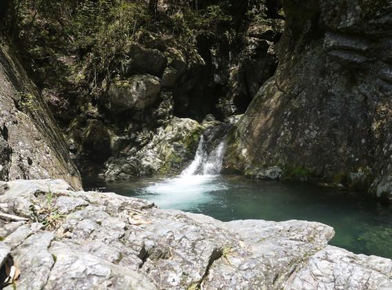 梅津の滝  撮影 清流 松本