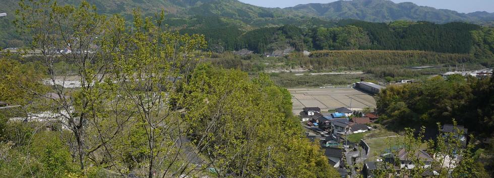 下の山小屋から  撮影 清流 松本