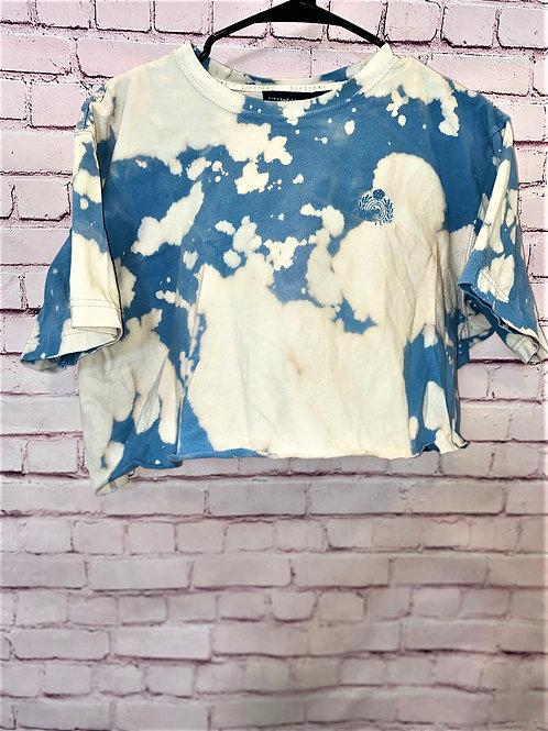 Liz Claiborne bleached crop top