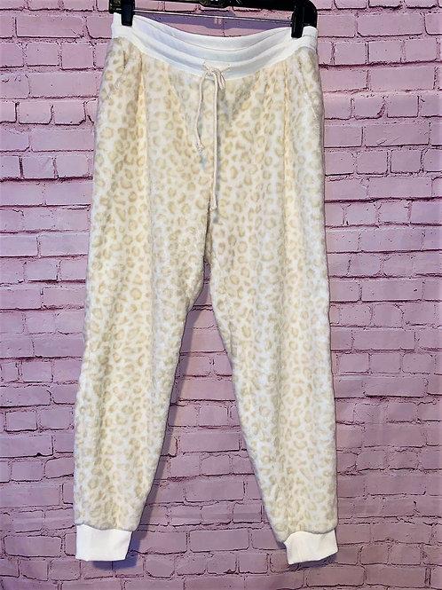 Cheetah print soft joggers