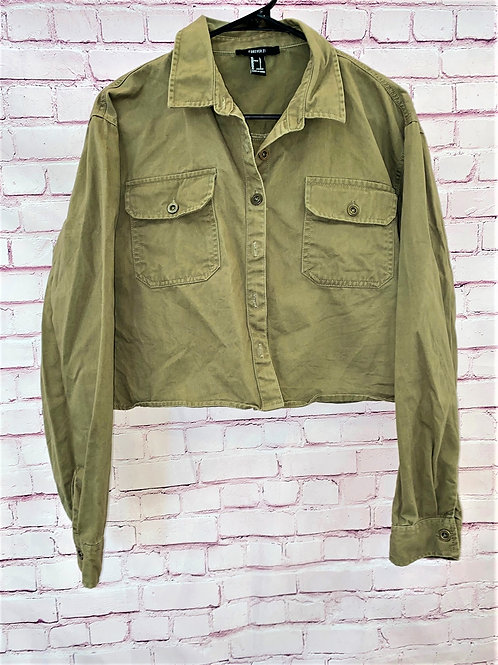 Army button down jacket