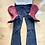 Thumbnail: Boot leg ripped jeans