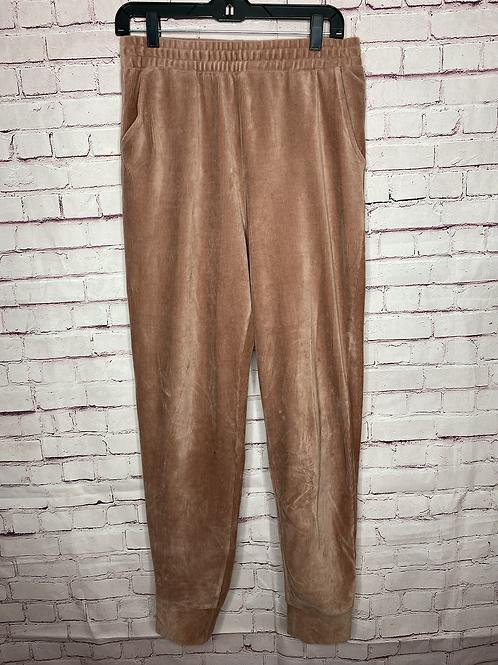 Vintage suede light pink pants