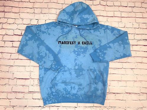 Manifest x Chill tie dye sweatshirt