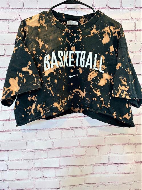 Nike basketball cropped tee