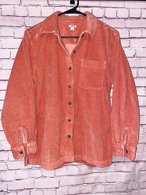 LL Bean corduroy Shirt