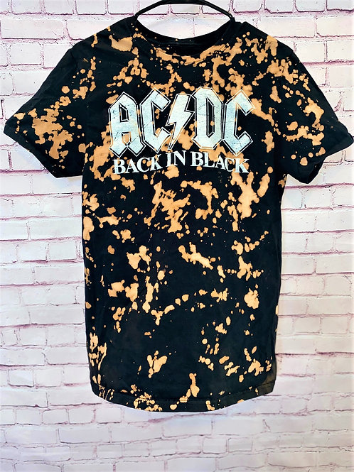 ACDC bleached tee