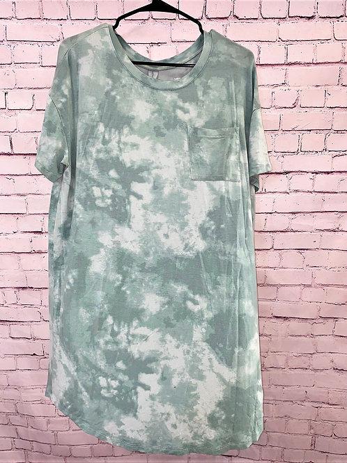 Tye Dyed T-shirt dress