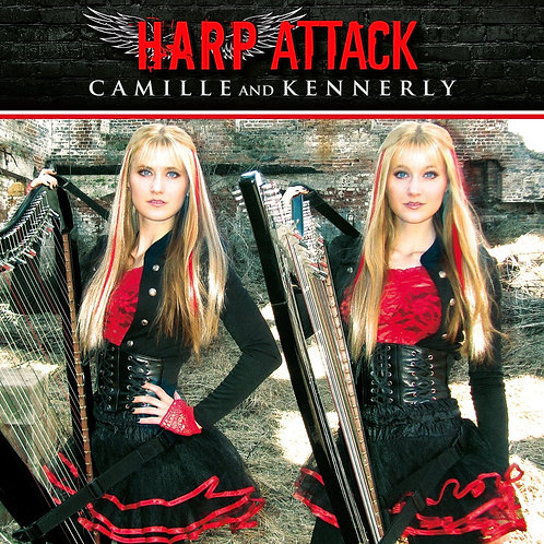 Harp Attack CD (AUTOGRAPHED)
