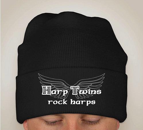 Harp Twins rock harps KNIT HAT