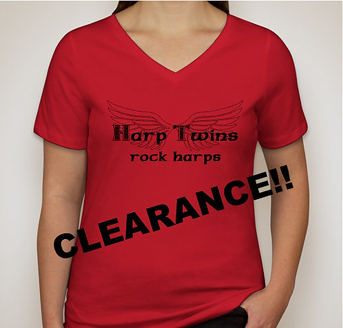 RED Rock Harps Ladies T-Shirt