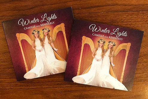 Double Winter Lights autographed CD bundle!