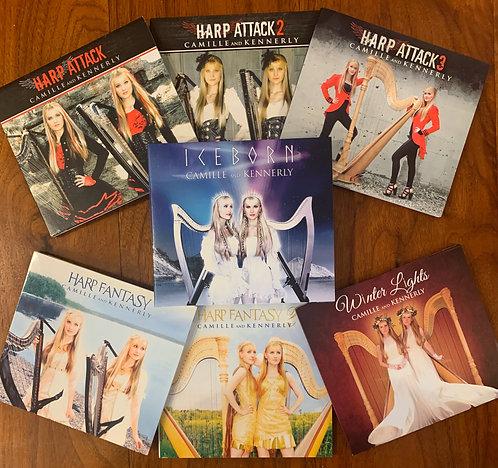 Entire 7 Album Collection AUTOGRAPHED