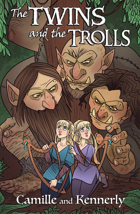 The Twins and the Trolls poster