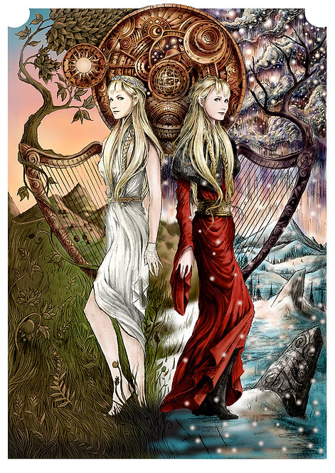 SOLSTICES ARTWORK poster