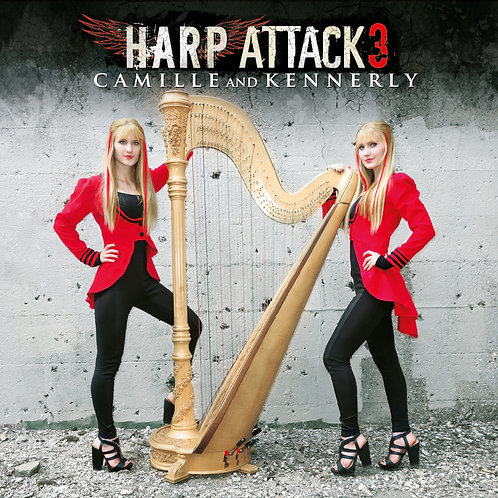 Harp Attack 3 CD (AUTOGRAPHED)