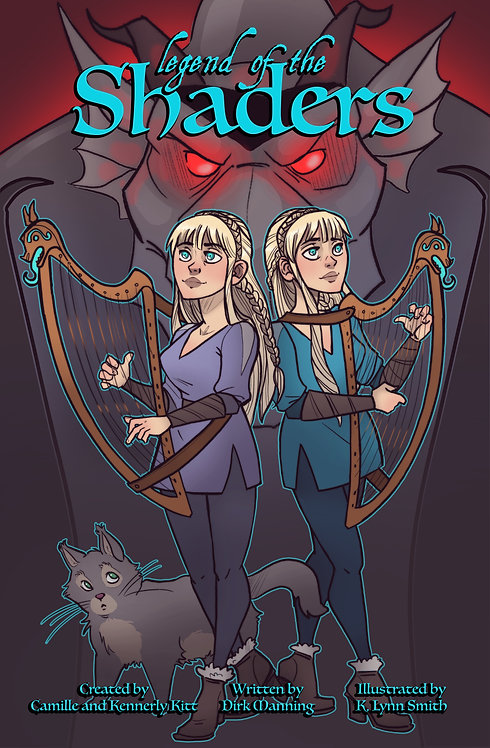Legend of the Shaders COMIC book