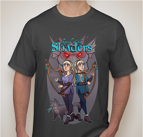 Legend of the Shaders T- Shirt