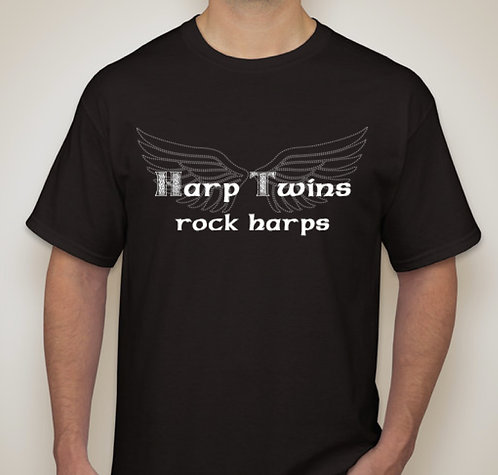 Harp Twins Rock Harps T-Shirt