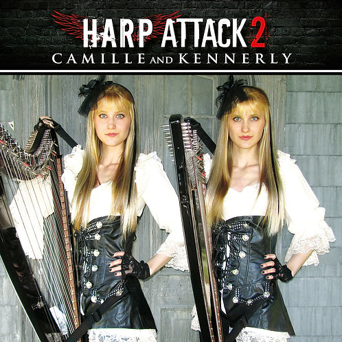 Harp Attack 2 CD (AUTOGRAPHED)