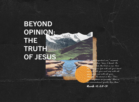 Who is this man? Jesus, Fear & Faith (Mark 4-6) // Week 11