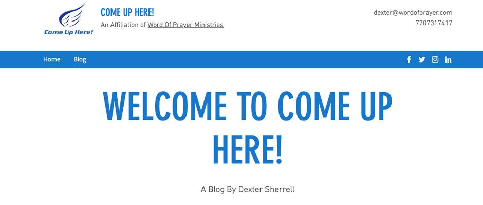 Dexter's Blog