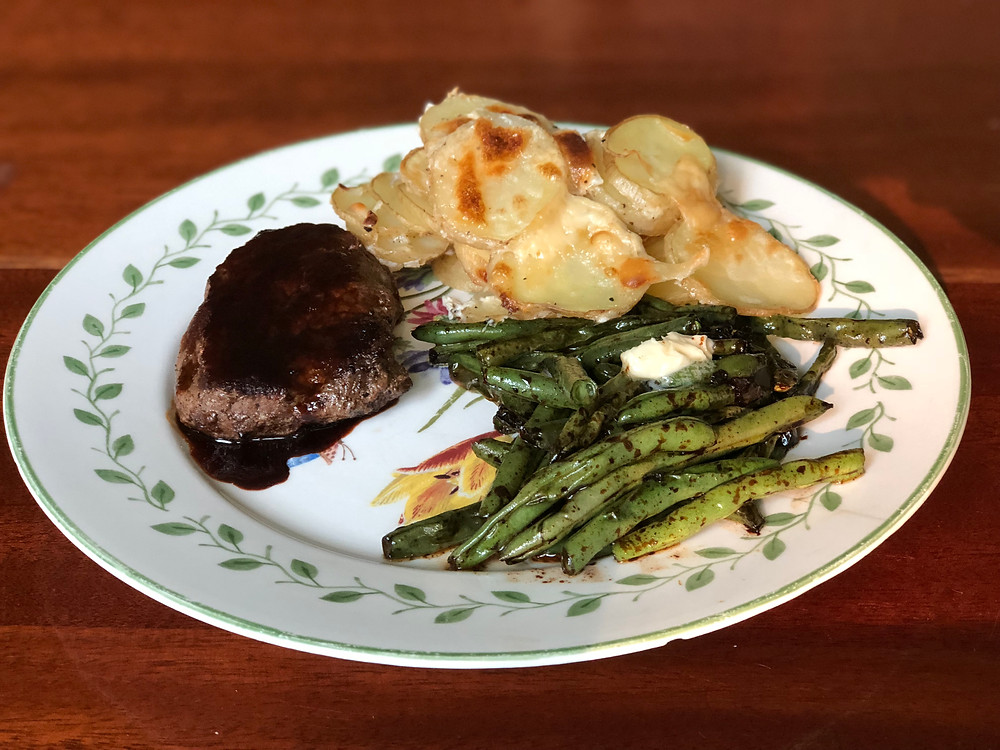 Parisian Steak meal by Home Chef