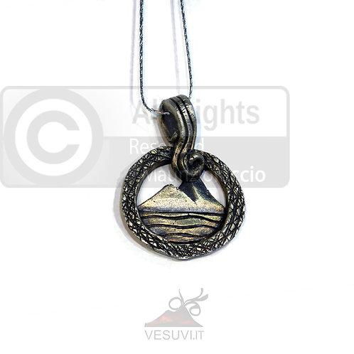 Girocollo vesuvio a sbalzo in argento