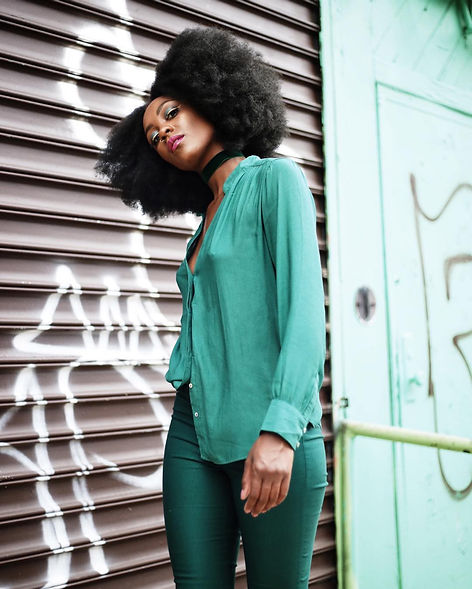 "Yes Fredia - Fredia Lucas ""Emerald City"" Editorial Campaign Captured by Travis Matthews"