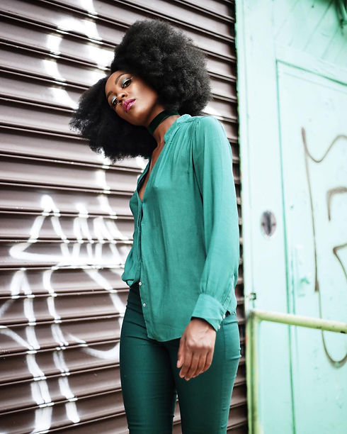 """Yes Fredia - Fredia Lucas """"Emerald City"""" Editorial Campaign Captured by Travis Matthews"""