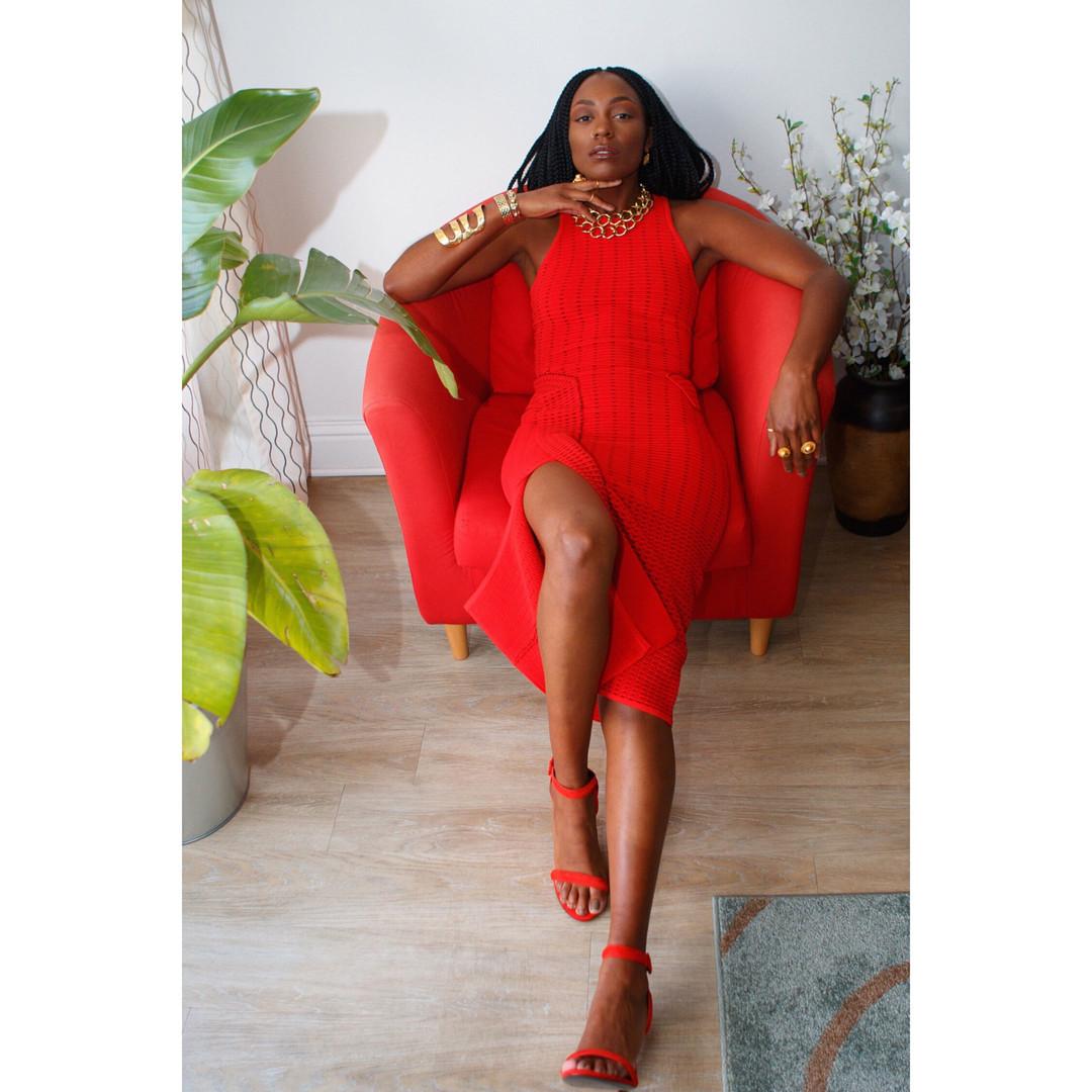 """The Red Dress"" Editorial Campaign  Photographer: Selena DS  Creative Director/Stylist: Natalia Powell  MUA: Tristany Lee  Photo Editor: Steve Williams  Website: selena-ds.mypixieset.com Instagram: @leena_ds"