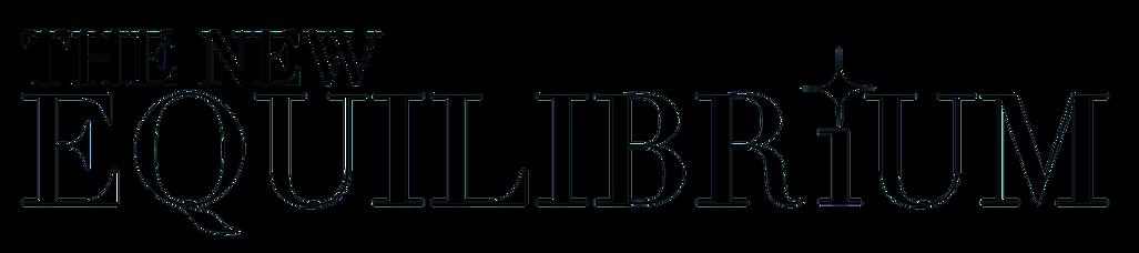 The new equilibrium black logo