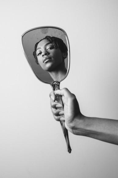 """""""Mirror Mirror"""" Editorial  Photographer: Sandy Honig  Instagram: @sandyhonig"""