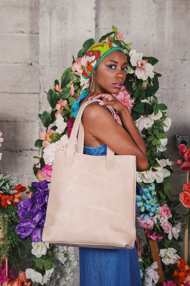 """Fredia for the""""In Bloom"""" Spring Commercial Campaign  Photographer: Akeem Pina  Stylist: Unoeth  MUA: Jordan Masurét  Jewelry: Candid Art  Instagram: @unoeth"""