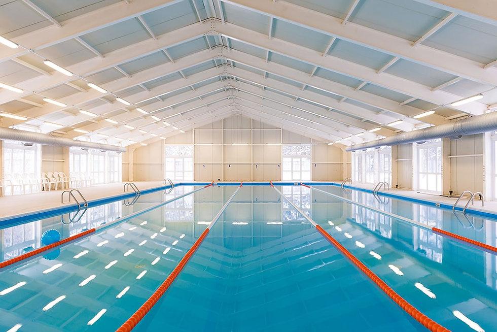 Empty pool facility