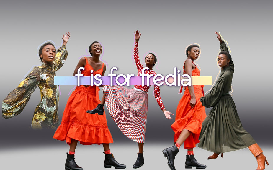 Yes Fredia - Fredia Lucas Youtube Banner
