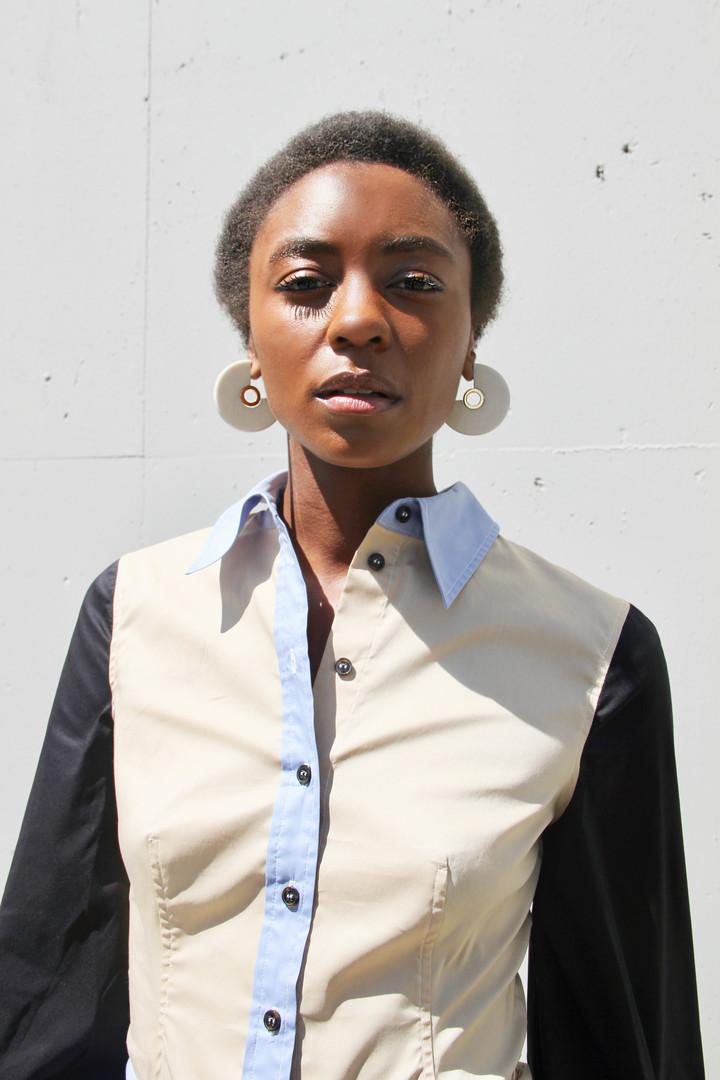 "Fredia for the ""McMullen Fall 19 Trend Report""  Photographer: Liz Zepeda  Stylist: McMullen Boutique  Website: shopmcmullen.com Instagram: @shopmcmullen"