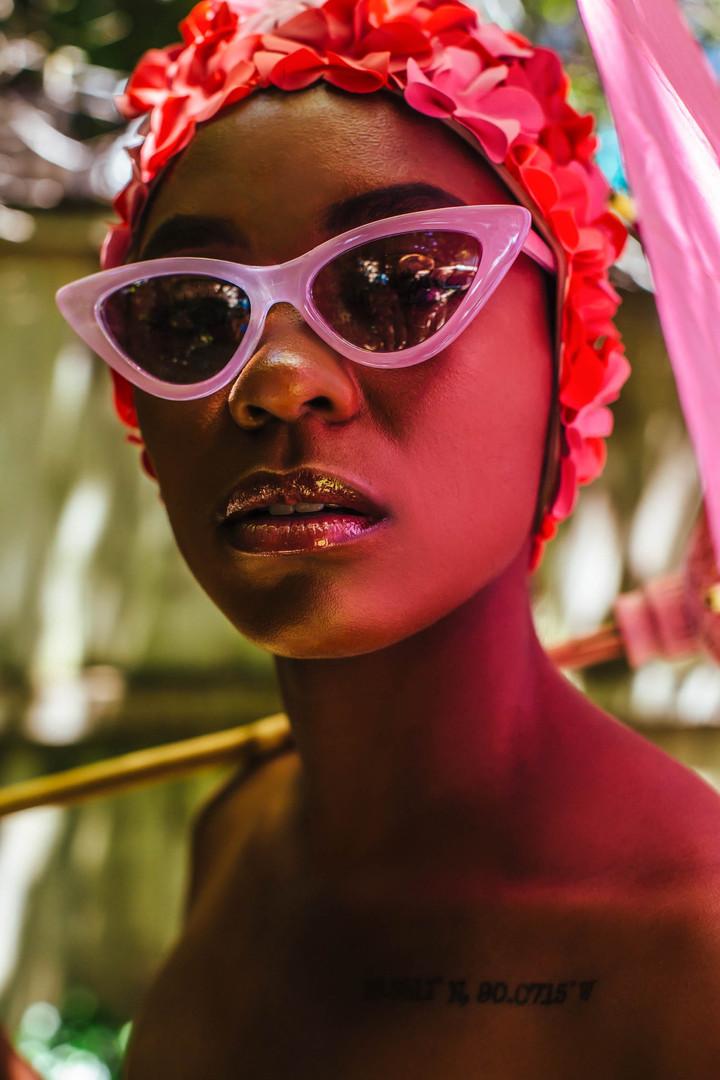 "Fredia for the ""Strange Harmony"" Editorial   Photographer: Paige Ricks  Stylist: Paige Ricks  Website: paigericks.com  Instagram: @paige_ricks"