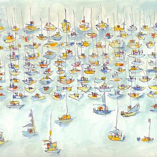 Rainy Day Marina