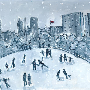 Wollman Rink, New York Winter.
